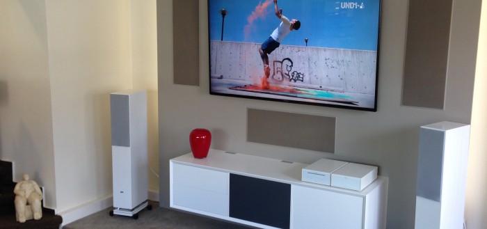 Unsere neue TV Wand